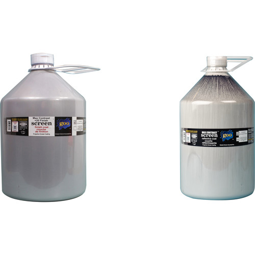 Goo Systems Max Contrast +20 Screen Goo Set (Pair of 1 Gal Bottles)