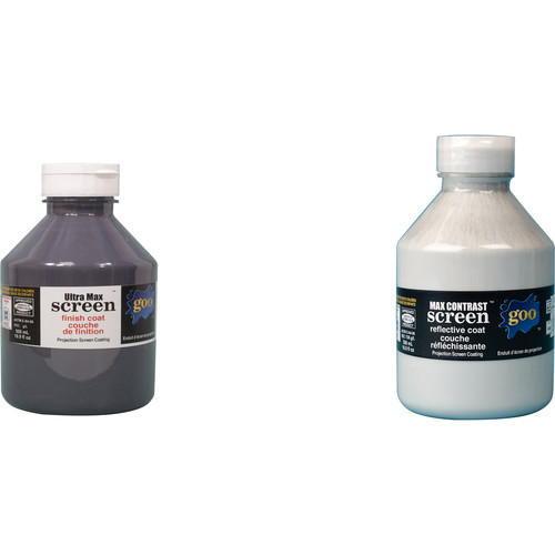 Goo Systems Ultra Max Contrast Screen Goo (Pair of 16.9 fl.oz Bottles)