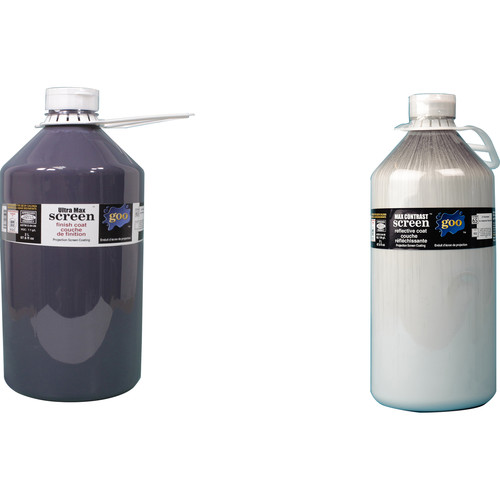 Goo Systems Ultra Max Contrast Screen Goo (Pair of 0.5 Gal Bottles)