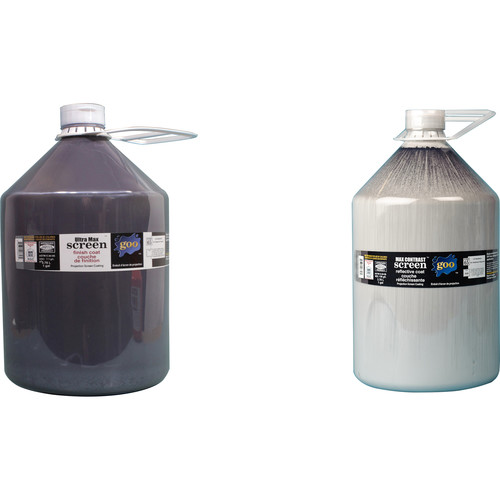 Goo Systems Ultra Max Contrast Screen Goo (Pair of 1 Gal Bottles)