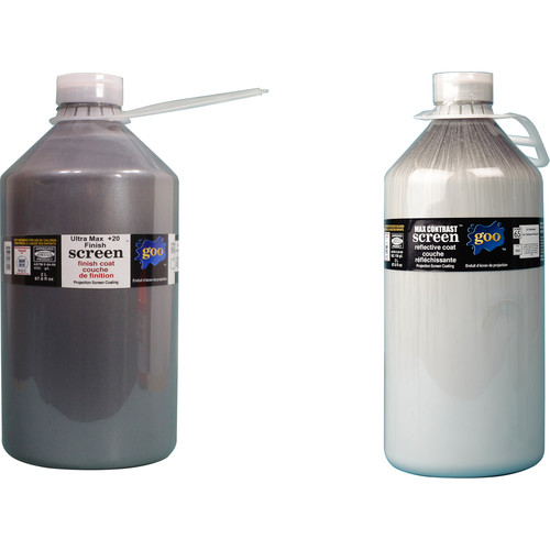 Goo Systems Ultra Max Contrast +20 Screen Goo Set (Pair of 0.5 Gal Bottles)