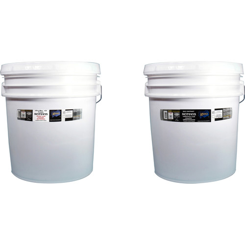 Goo Systems Ultra Max Contrast +20 Screen Goo Set (Pair of 4.2 Gal Bottles)