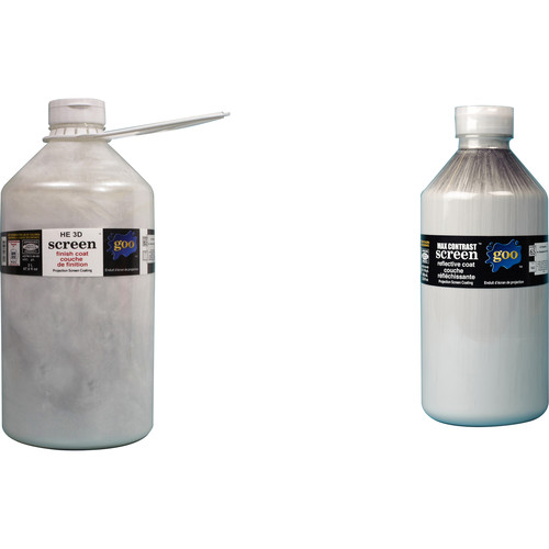 Goo Systems High Extinction 3D Screen Goo (Pair of 0.5 Gal Bottles)