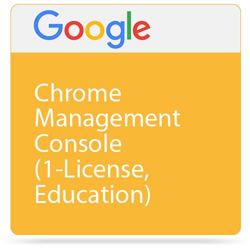 Google Chrome Management Console (1-License, Education)