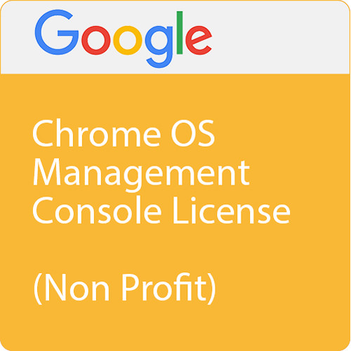 Google Chrome Management Console (Perpetual Nonprofit License, 5 Years of Device Support)
