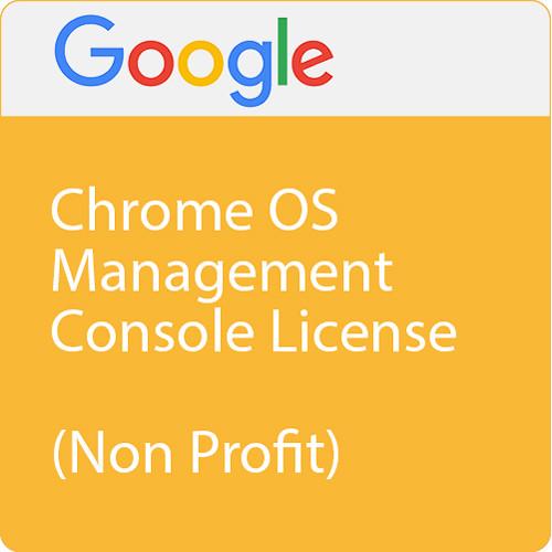 Google Chrome Management Console (1 License, Non-Profit)