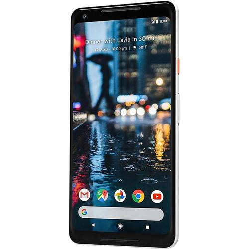 Google Pixel 2 XL 128GB Smartphone (Unlocked, Black & White)
