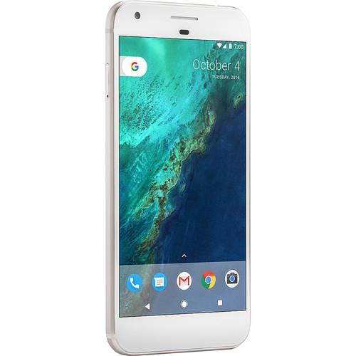 Google Pixel XL G-2PW2200 128GB Smartphone (Unlocked, Quite Silver)