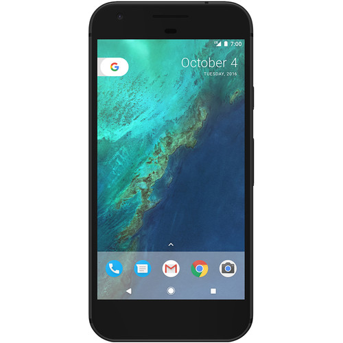 Google Pixel G-2PW4100 128GB Smartphone (Unlocked, Quite Black)