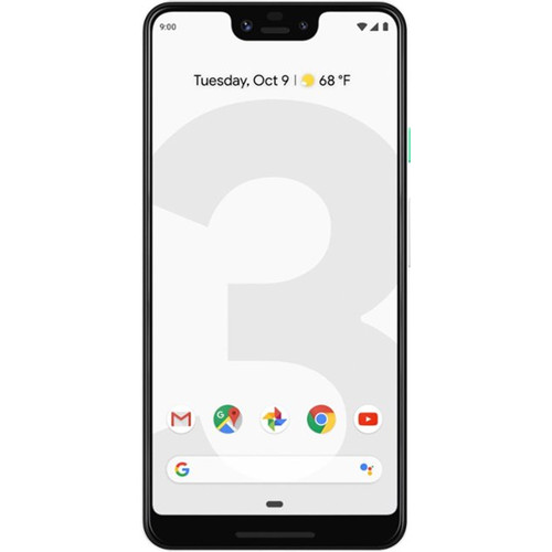 Google Pixel 3 XL 128GB Smartphone (Unlocked, Clearly White)