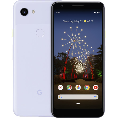 Google Pixel 3a Smartphone (Unlocked, Purple-ish)