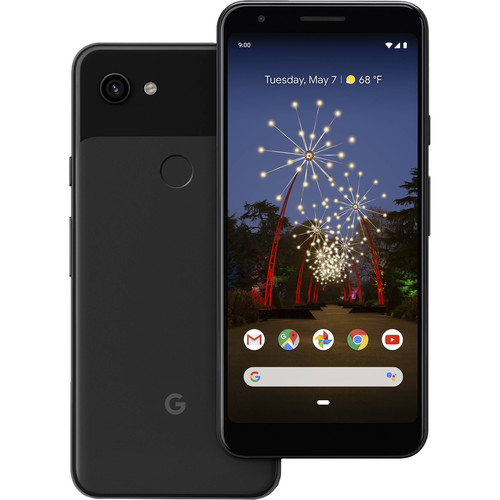 Google Pixel 3a XL Smartphone (Unlocked, Just Black)