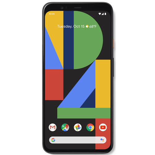 Google Pixel 4 XL 128GB Smartphone (Unlocked, Clearly White)