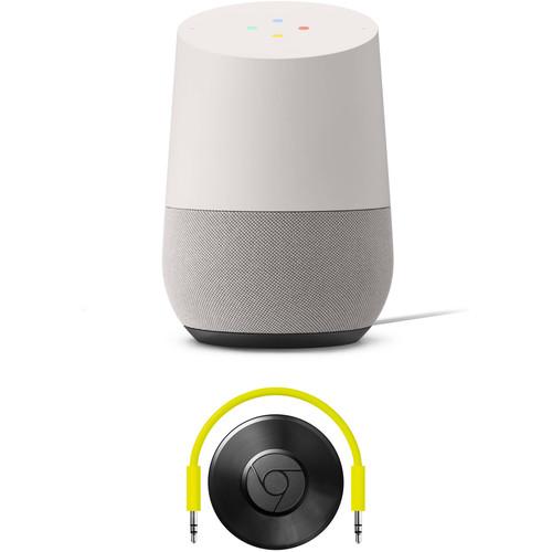 Google Home and Chromecast Audio Kit (Chalk)