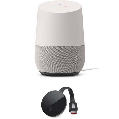 Google Home and Chromecast Ultra Kit (White Slate)
