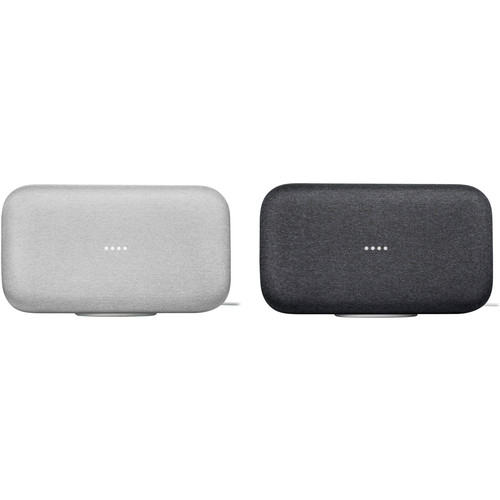Google Home Max Pair Kit (One Chalk, One Charcoal)