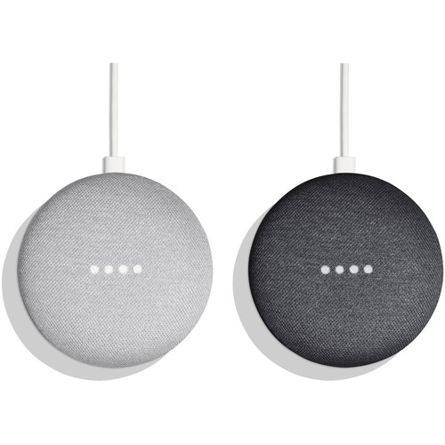 Google Home Mini Pair Kit (One Chalk, One Charcoal)