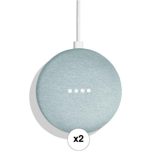 Google Home Mini Pair Kit (Aqua)
