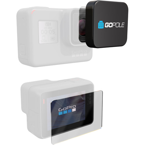 GoPole Lens + LCD Protection Kit for GoPro HERO5 & HERO6 Black