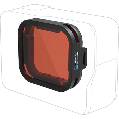 GoPro Red Snorkel Filter for HERO6 Black & HERO5 Black