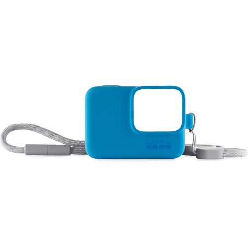 GoPro Sleeve + Lanyard (Blue)