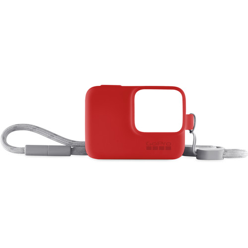 GoPro Sleeve + Lanyard (Red)