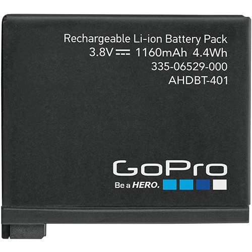 GoPro Rechargeable Battery for HERO4