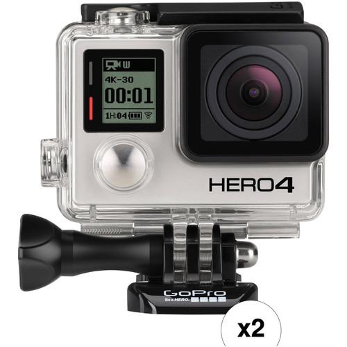 GoPro Dual HERO4 Black Action Cam Kit