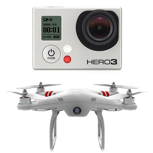 GoPro HERO3: Black Edition Camera & Phantom Quadcopter with GoPro Mount Kit