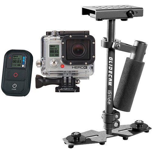 GoPro HERO3: Black Edition Camera & iGlide Handheld Stabilizer Kit