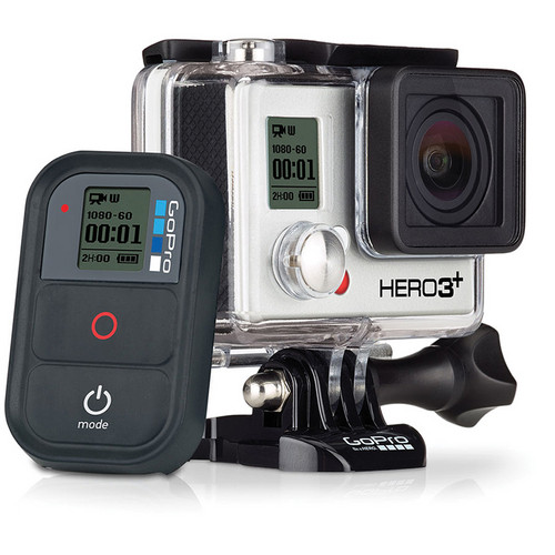 GoPro GoPro HERO3+ Black Edition Digital Camera Kit with Underwater Video Light / Mount / Tray and Flex Arm Package