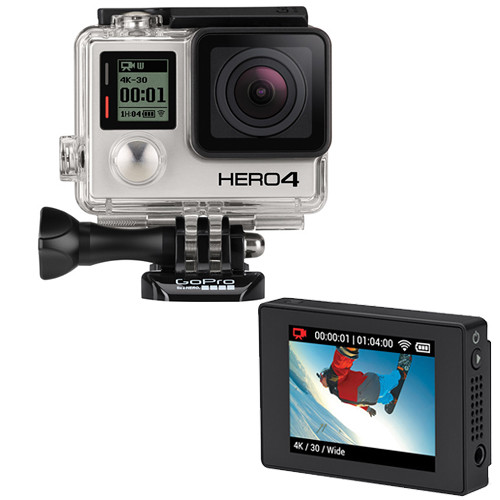 GoPro HERO4 Black and LCD Touch BacPac Kit