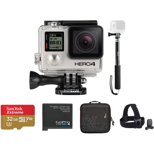 GoPro HERO4 Black Beginners Kit