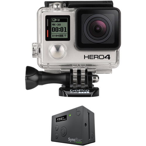 GoPro HERO4 Black SyncBac PRO Timecode Kit