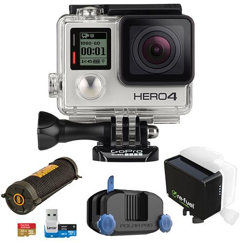 GoPro HERO4 Silver Camping Kit