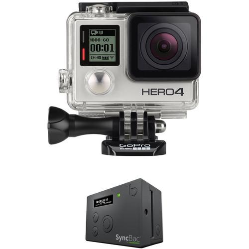 GoPro HERO4 Silver SyncBac PRO Timecode Kit