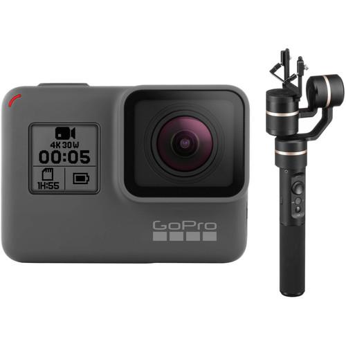 GoPro HERO5 Black & Feiyu G5 3-Axis Gimbal Kit