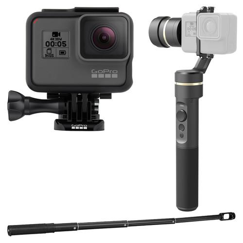 GoPro HERO5 Black Kit with G5 Gimbal & Extension Bar