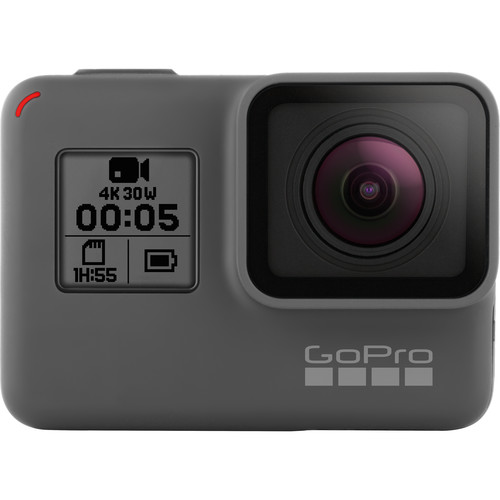 GoPro HERO5 Black & Selfie-Stick Kit with 32GB microSDHC Card