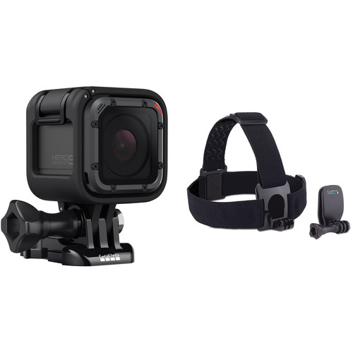 GoPro HERO5 Session with Head Strap + QuickClip Kit
