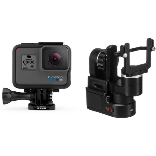 GoPro HERO6 Black with Feiyu WG2 Gimbal Stabilizer