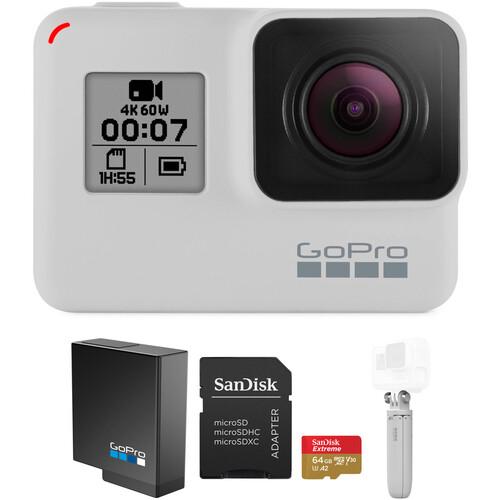 GoPro HERO7 Black Limited Edition Basic Kit (Dusk White)