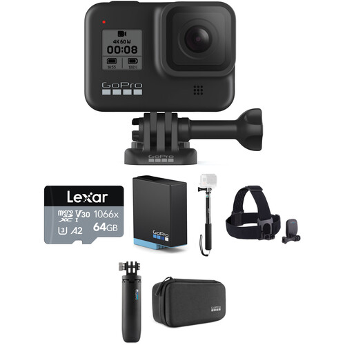 GoPro HERO8 Black Basic Kit