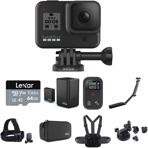 GoPro HERO8 Black Deluxe Kit