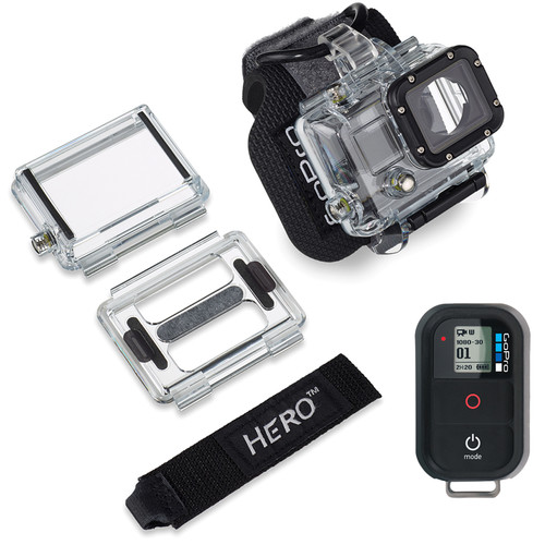 GoPro Remote 1.0 and Wrist Housing Bundle