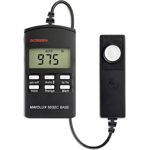 Gossen Mavolux 5032C Base Light Meter