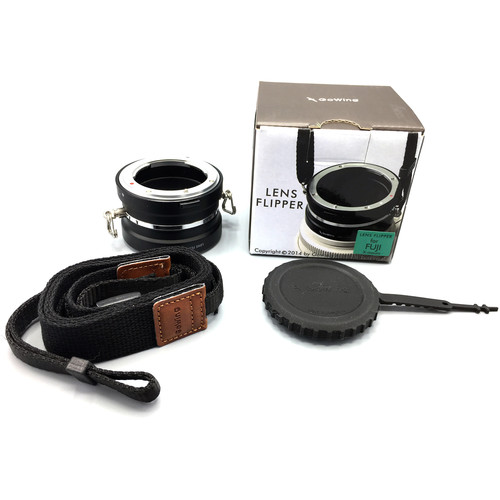 GoWing Lens Flipper for Fuji X-Mount Lenses