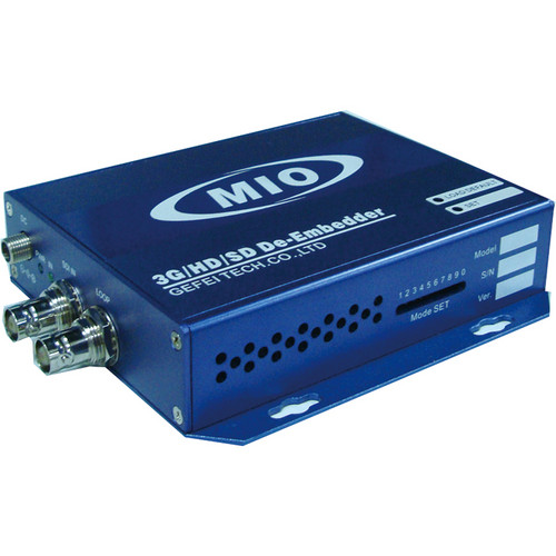 Gra-Vue MIO DEMUX-HDSDI 3G/HD/SD Signal and Analog Audio De-embedder