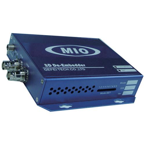 Gra-Vue SDI AES Audio De-Embedder with Dual Balanced Analog Audio Outputs