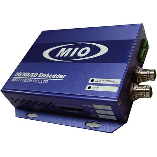 Gra-Vue MIO EMB-HDSDI_AES 3G/HD/SD-SDI-AES Audio Embedder